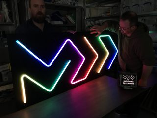 The MDD Neon Sign